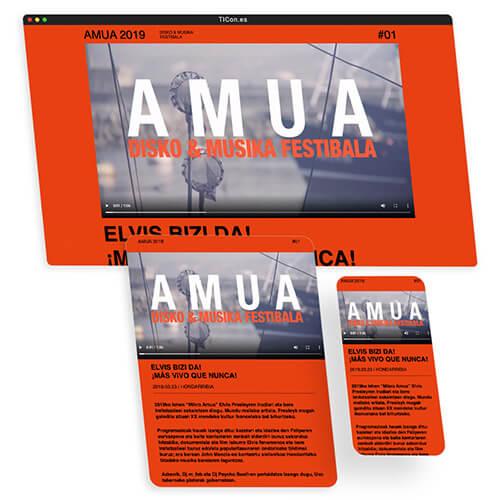 festival Amua de música pagina web en Hondarribia
